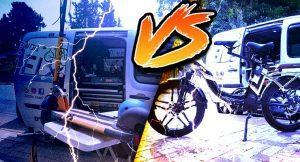 אופניים חשמליים VS קורקינט חשמלי