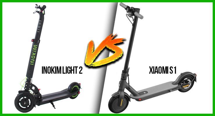 Inokim Light2 vs xiaomi s1
